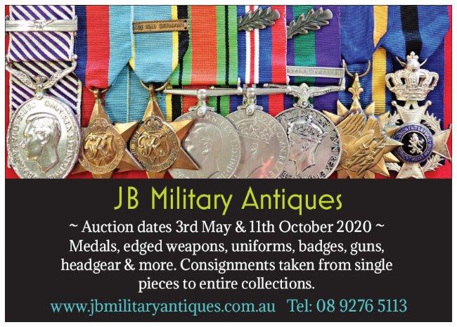 JB Auction dates