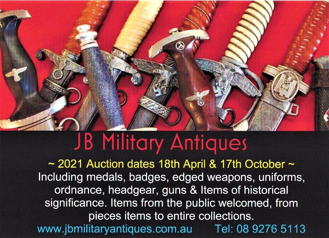 JB Auction dates 2021